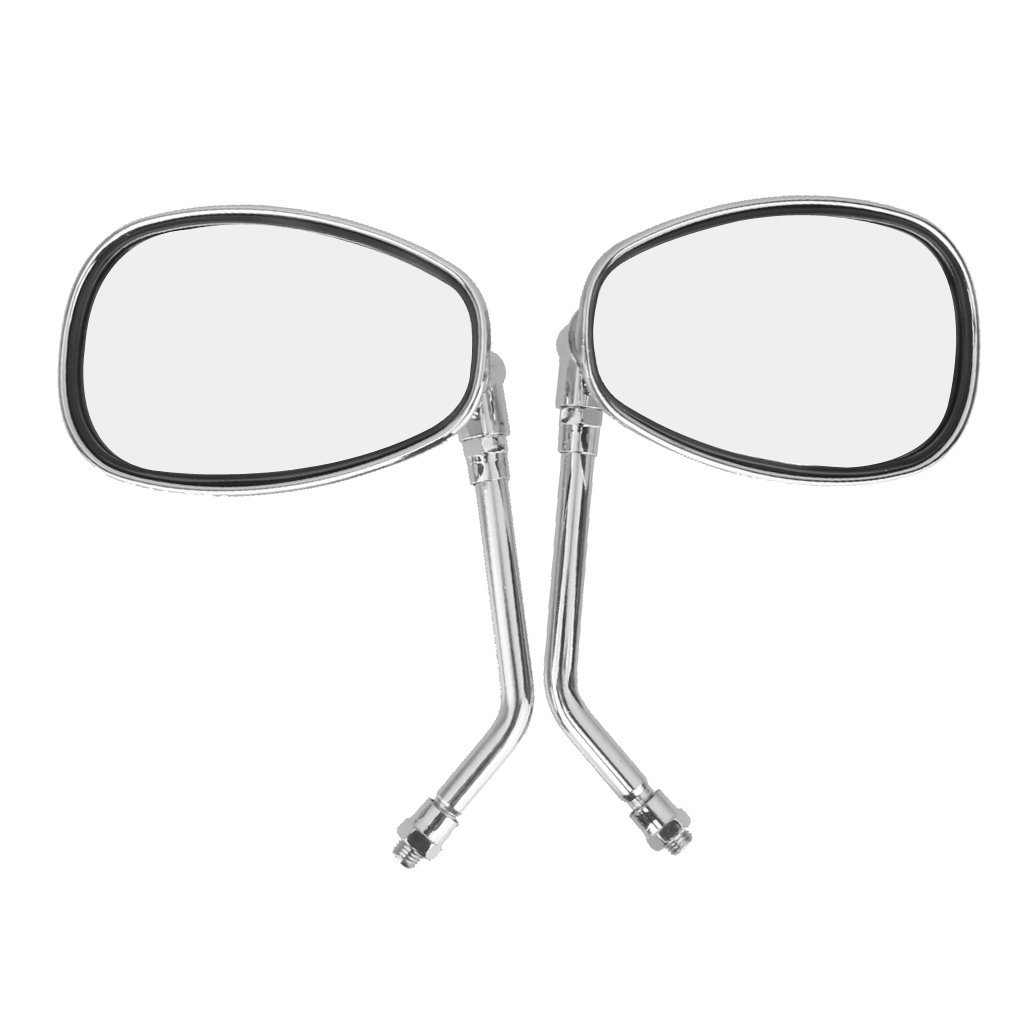 1024x1024 Imported Motorcycle Chrome Rearview Side Mirrors For Kawasaki