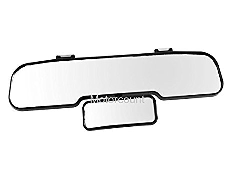466x377 Large Twin Wide Rear View Mirror