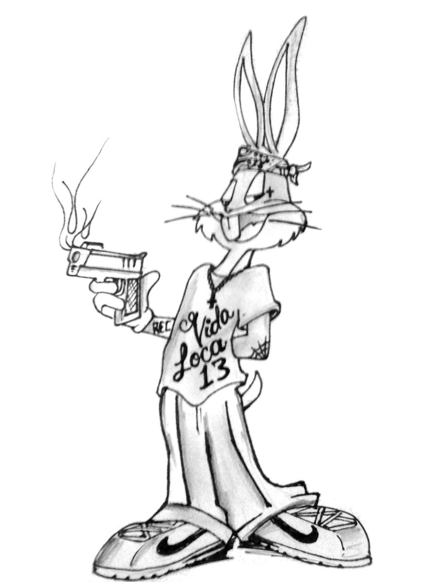 900x1200 Gangster Buggs By Txrec