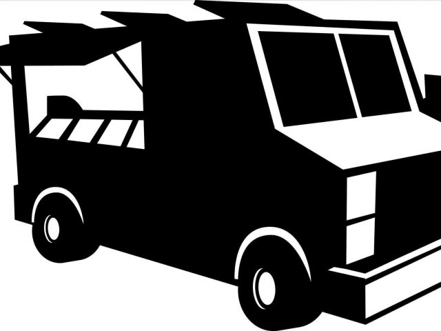 640x480 Food Truck Drawing