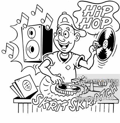 400x409 Playing Records Cartoons And Comics