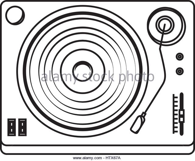 640x529 Record Player Black And White Stock Photos Amp Images