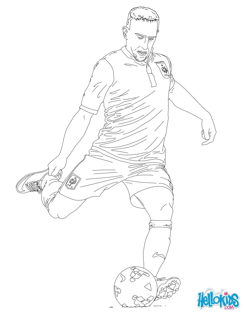 820x1060 Soccer Player Coloring Pages Printable Coloring Pages For Kids