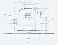 245x190 Recording Studio Control Room Floor Plan Studio Layouts