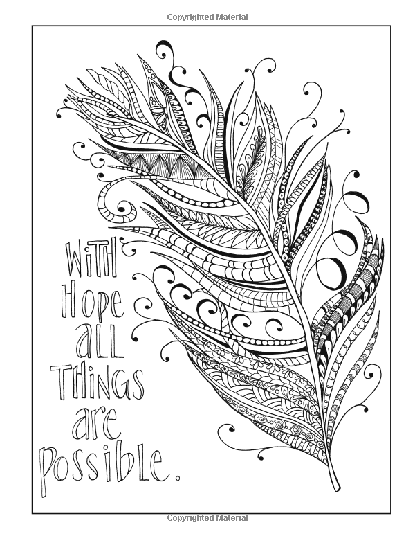 600x774 Inkspirations For Recovery A Coloring Companion That Celebrates