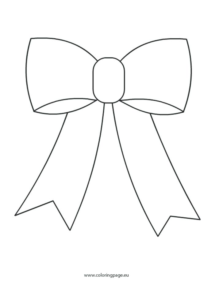 701x931 Free Bow Coloring Sheets