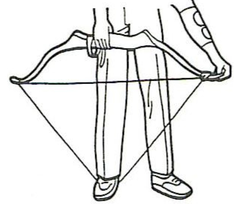 766x667 How To String A Recurve Bow