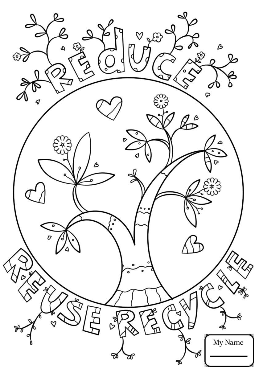 840x1210 Battery And Bulb Recycling Nature Seasons Recycling Coloring Pages
