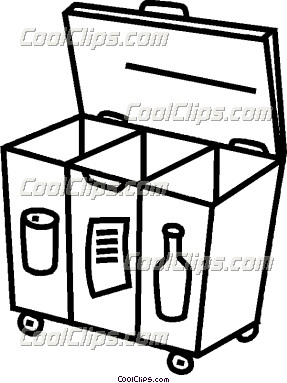 287x383 Recycling Bin Clipart Christina Aguilera Period Accident Man
