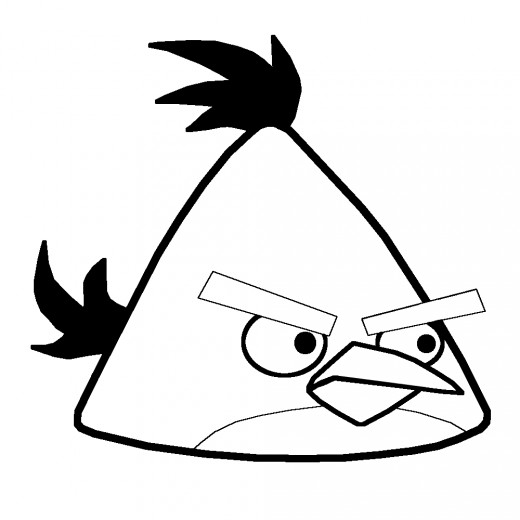 520x520 how to draw an angry bird yellow bird hubpages