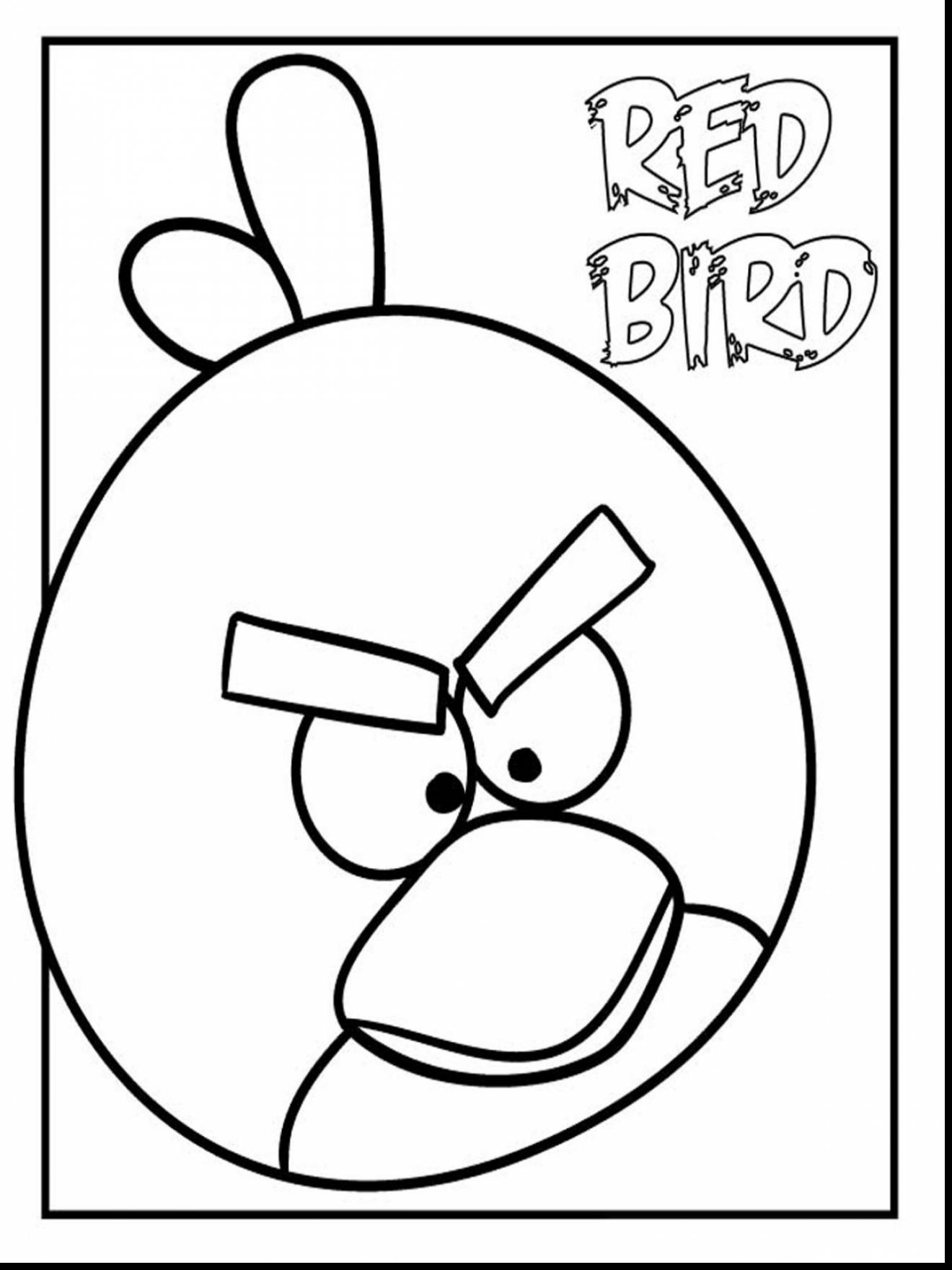 1320x1760 Spectacular Red Angry Bird Coloring Pages With Birds Coloring