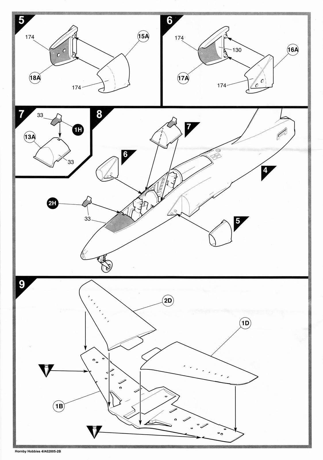 1124x1600 Airfix 172 Bae Red Arrows Hawk (A02005)