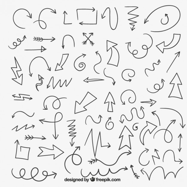 626x626 Arrow Drawing Vectors, Photos And Psd Files Free Download