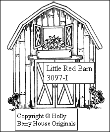 222x266 Little Red Barn