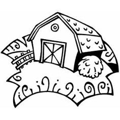 236x236 Barn Coloring Pages Free Coloring Pages Of Red Barn Vintage