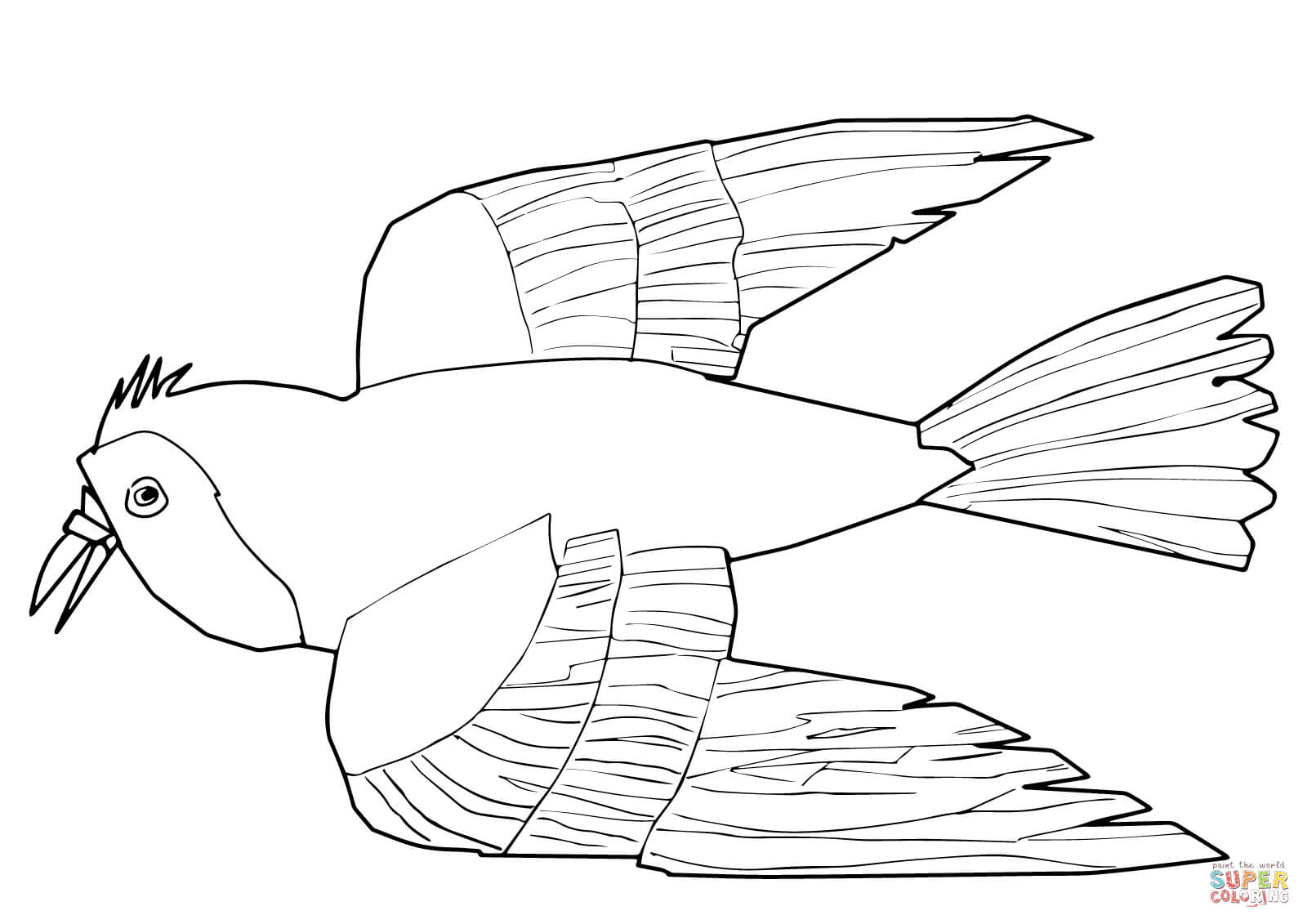 1600x1131 Red Bird Red Bird What Do You See Coloring Page Free Printable