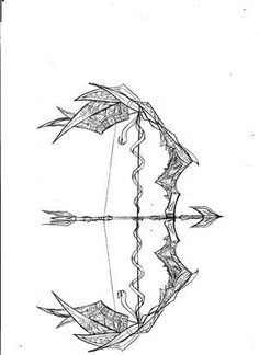 236x324 Tribal Bow And Arrow Ink Slips Arrow, Tattoo And Tatoo