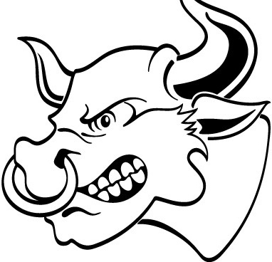 382x368 Bull Free Vector Download (158 Free Vector) For Commercial Use