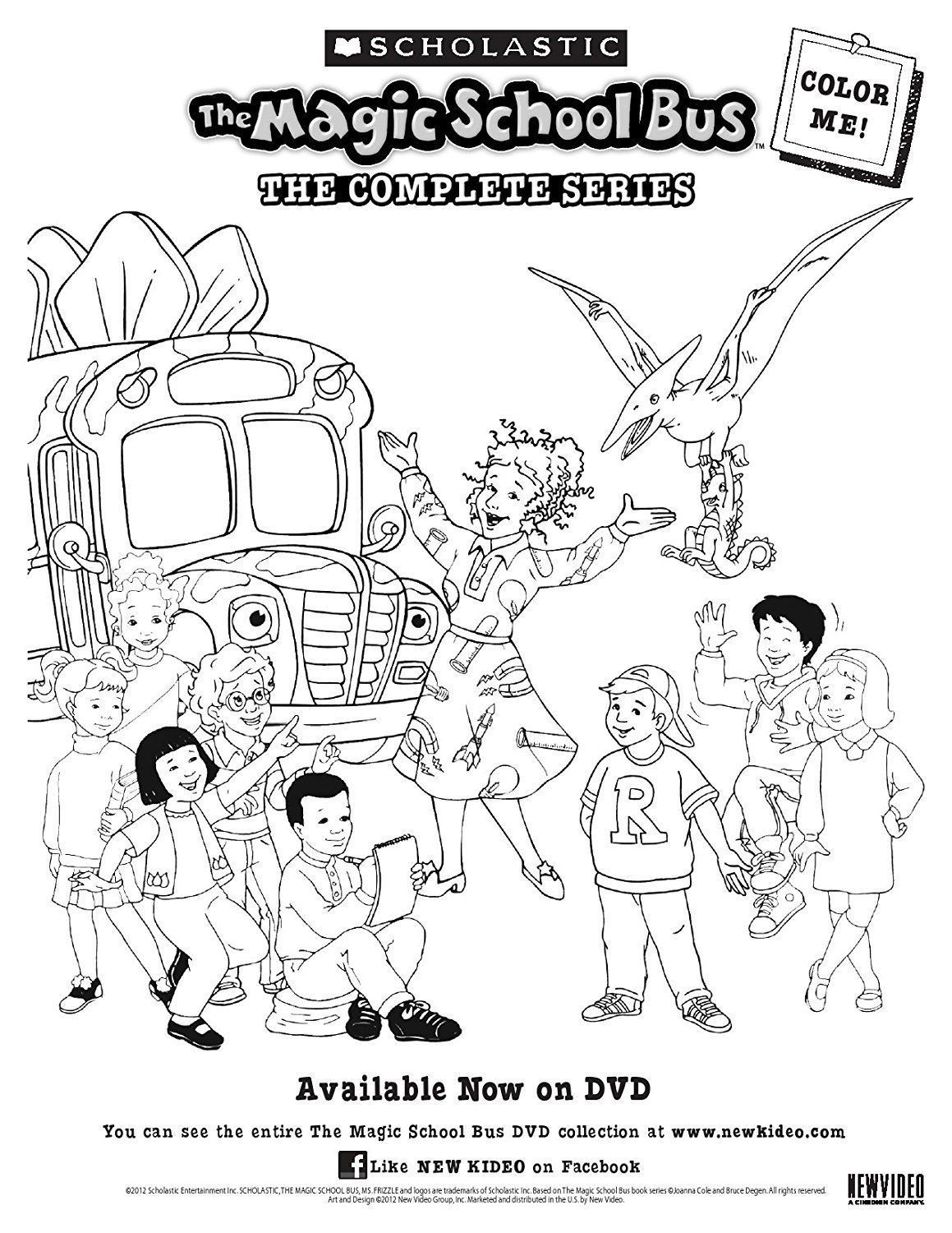 1159x1500 The Magic School Bus The Complete Series (Dvd, 2012, 8 Disc Set