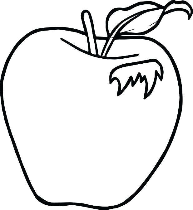 618x673 This Is Apple Coloring Pages Images Fruit Coloring Pages To Good