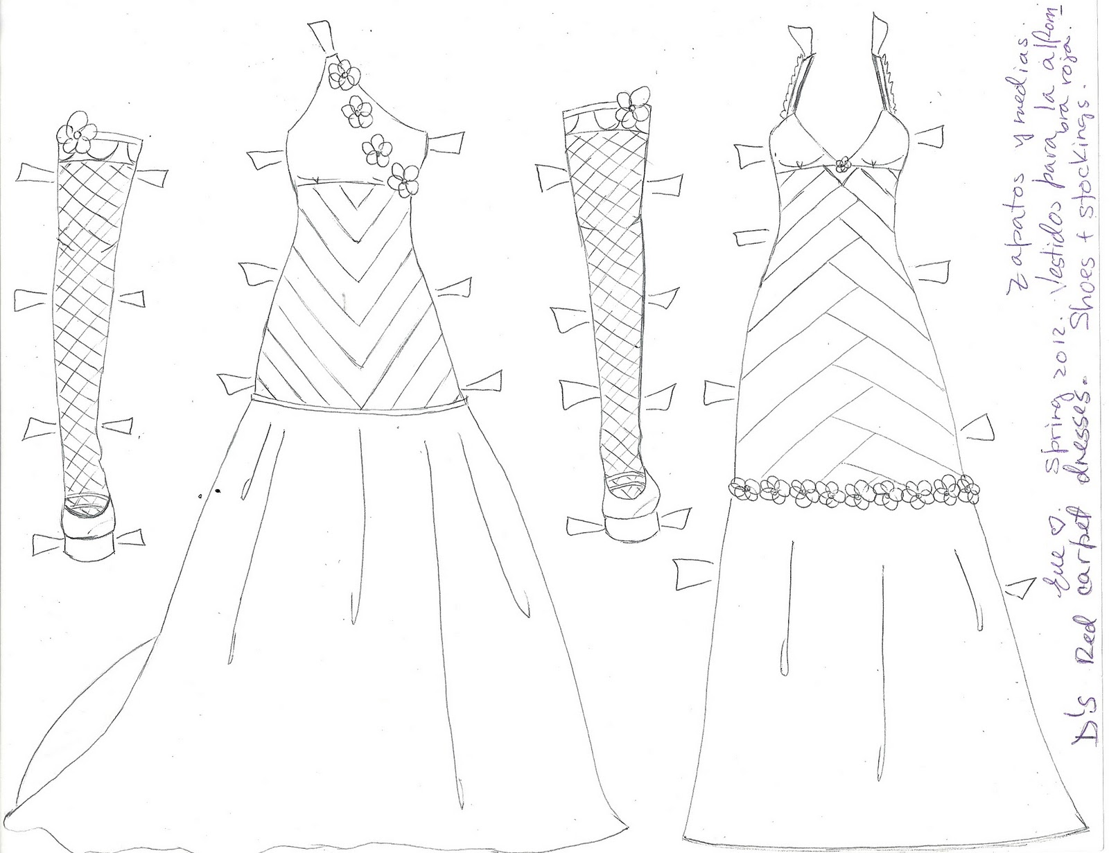 1600x1231 Paper Doll Eve~ D Paper Doll Red Carpet Dresses, Stockings And Shoes.