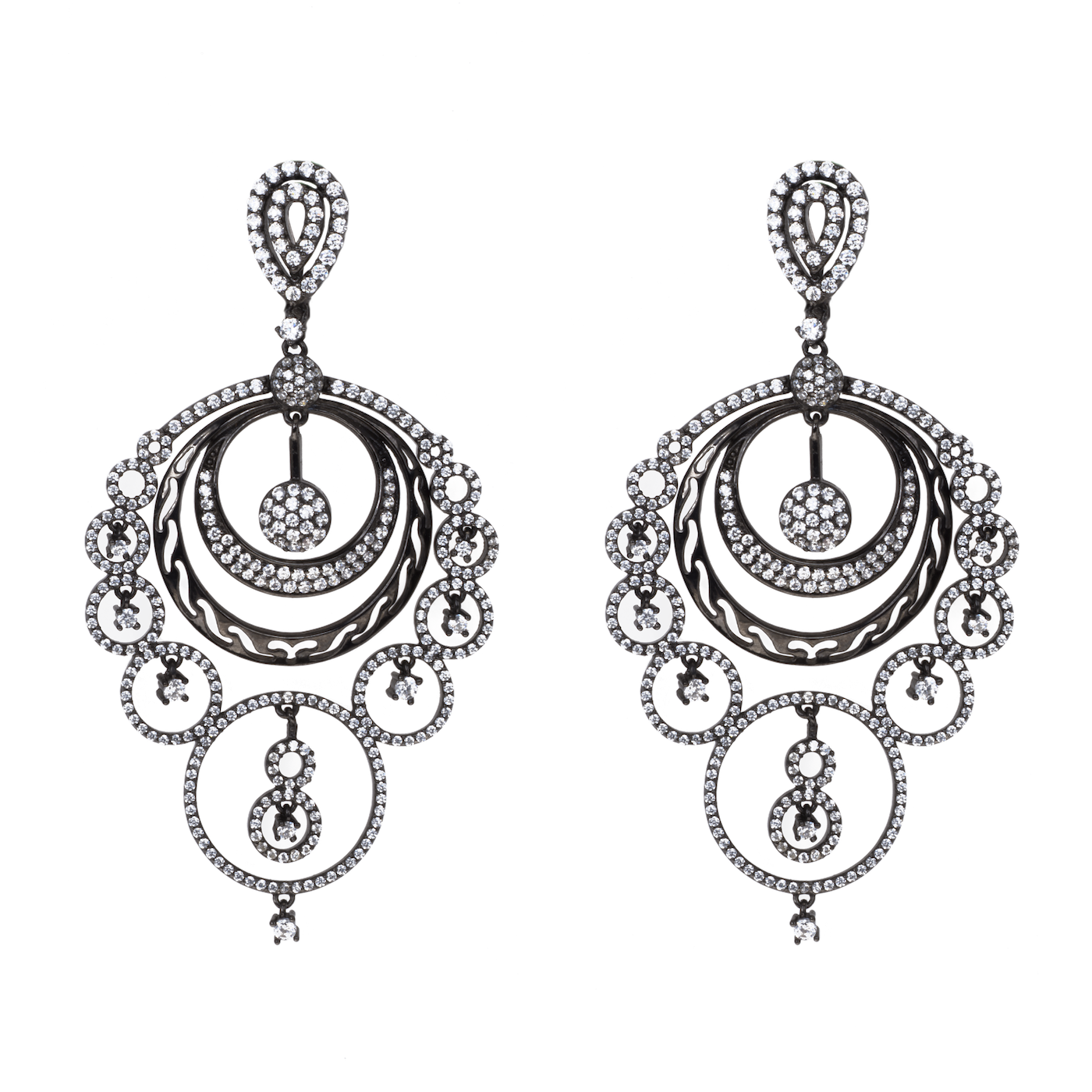 1400x1400 Red Carpet Earrings Mine Sterling Silver