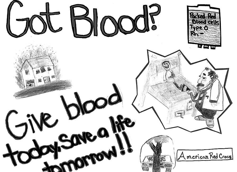 1000x729 Mount Savage Students Win Red Cross Poster Contest Local News
