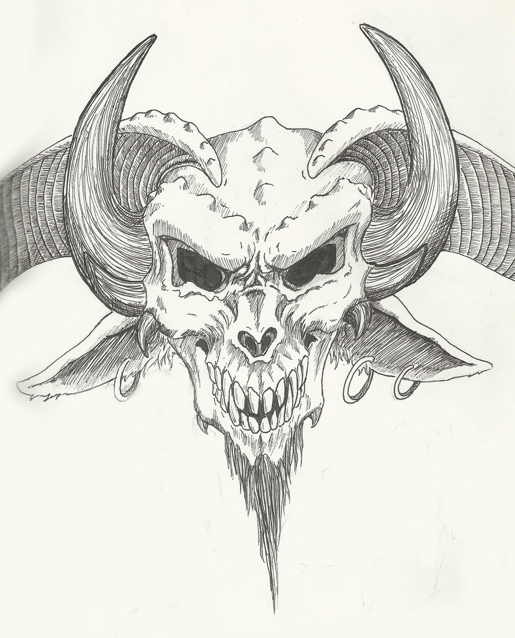 1024x1268 Devil's Head By Redsabbath