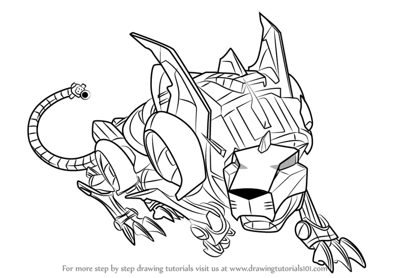 800x566 Learn How To Draw Red Lion From Voltron