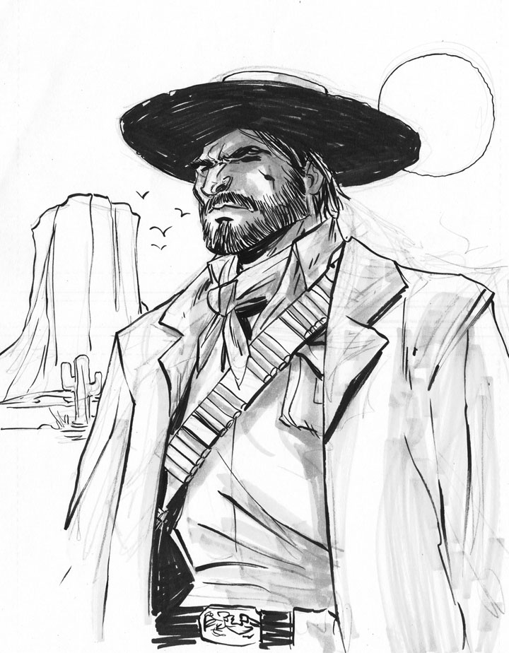 720x924 Chicago Drink N' Draw Red Dead Curly Head