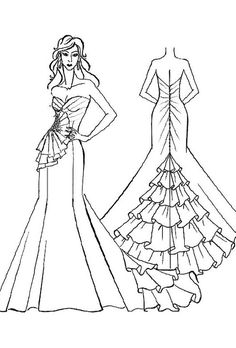 236x348 The Heart Truth Fashion Show Red Dress Sketch By Designer Ross