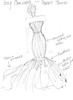 236x325 Dress Sketch! Send Me Some Sketches Guys!!! I Want To Learn