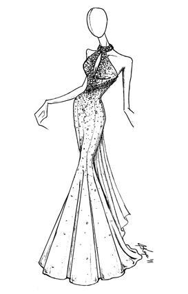 273x428 Red Prom Dress
