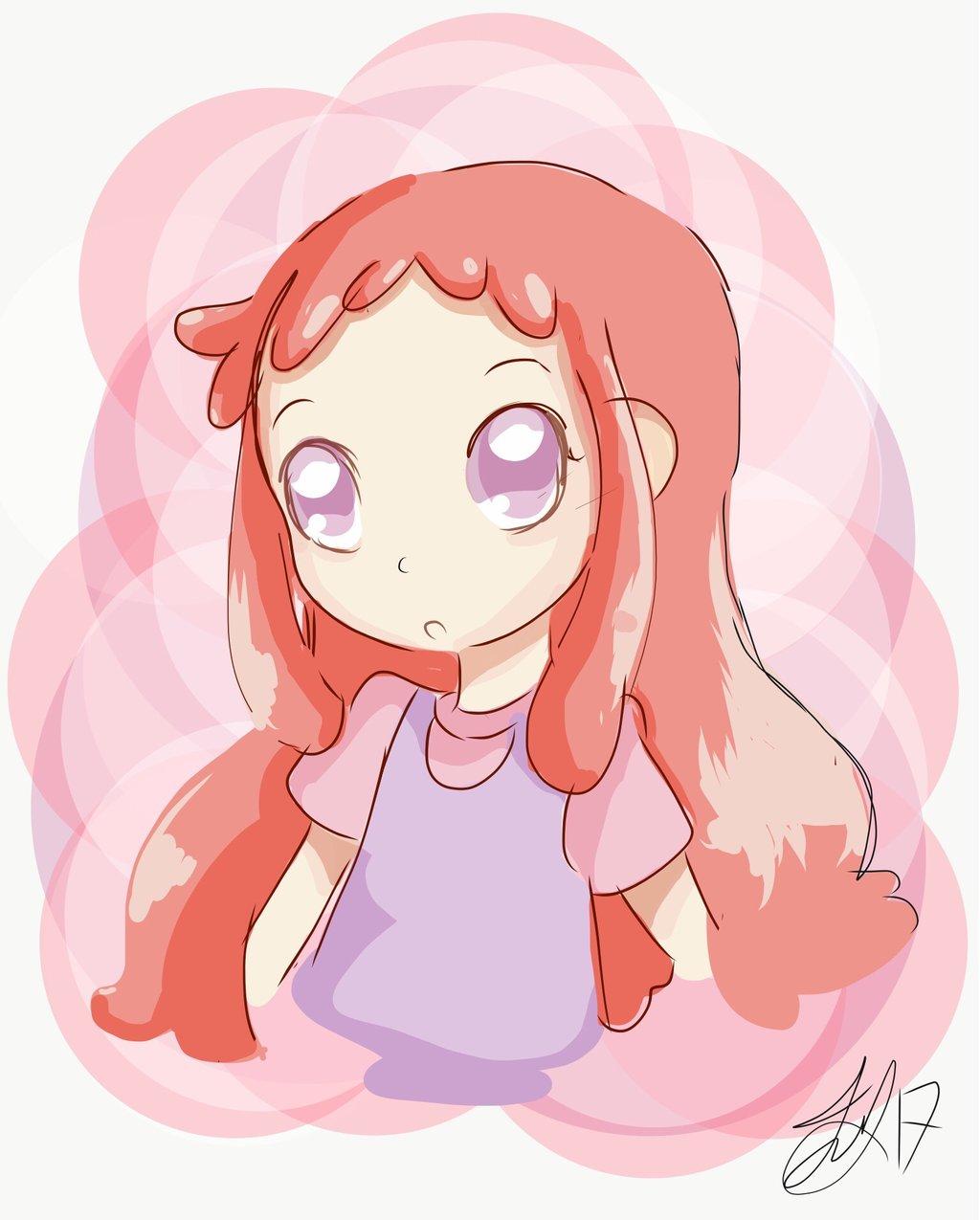 1024x1275 Shiny Red Hair By Techfreak107