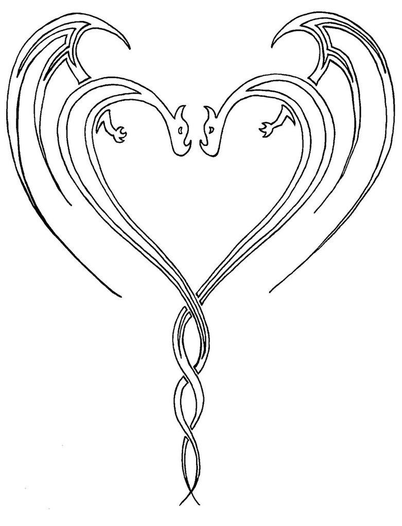 781x1023 Heart Tattoos