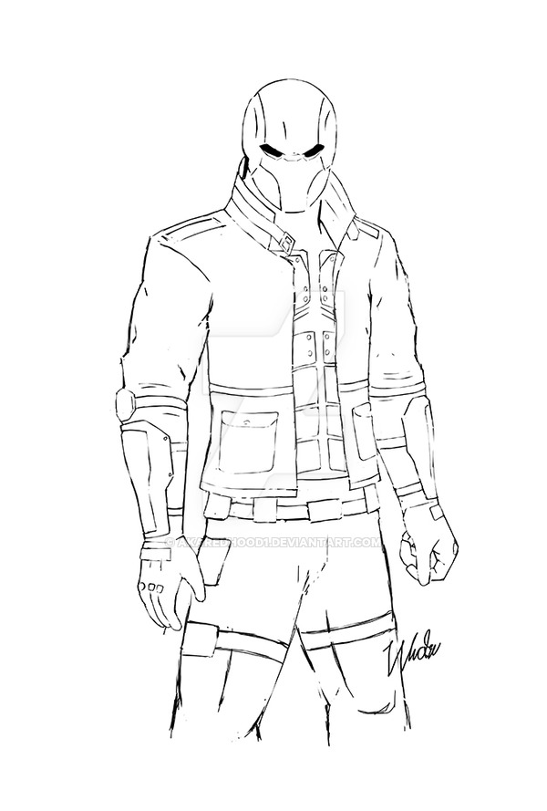 Red Hood Drawing at GetDrawings | Free download