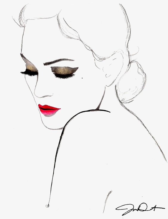 Red Lips Drawing at GetDrawings com | Free for personal use