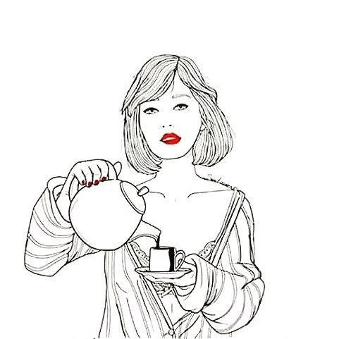 481x481 Red Lips And Coffee Coffee Coffee