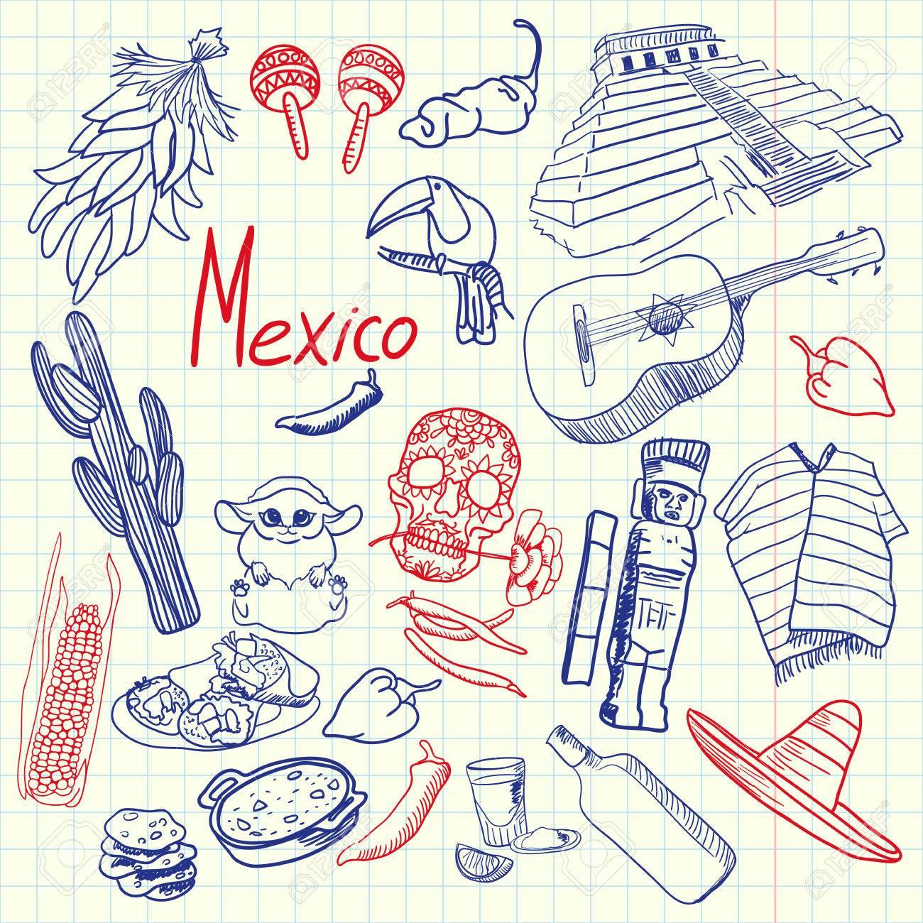 1300x1300 Mexico Associated Symbols. Mexican National, Cultural, Culinary