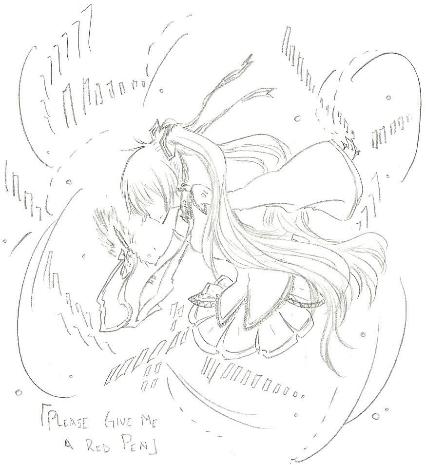 874x954 Mikuhatsune Red Pen Please By Fermonsnosyeux