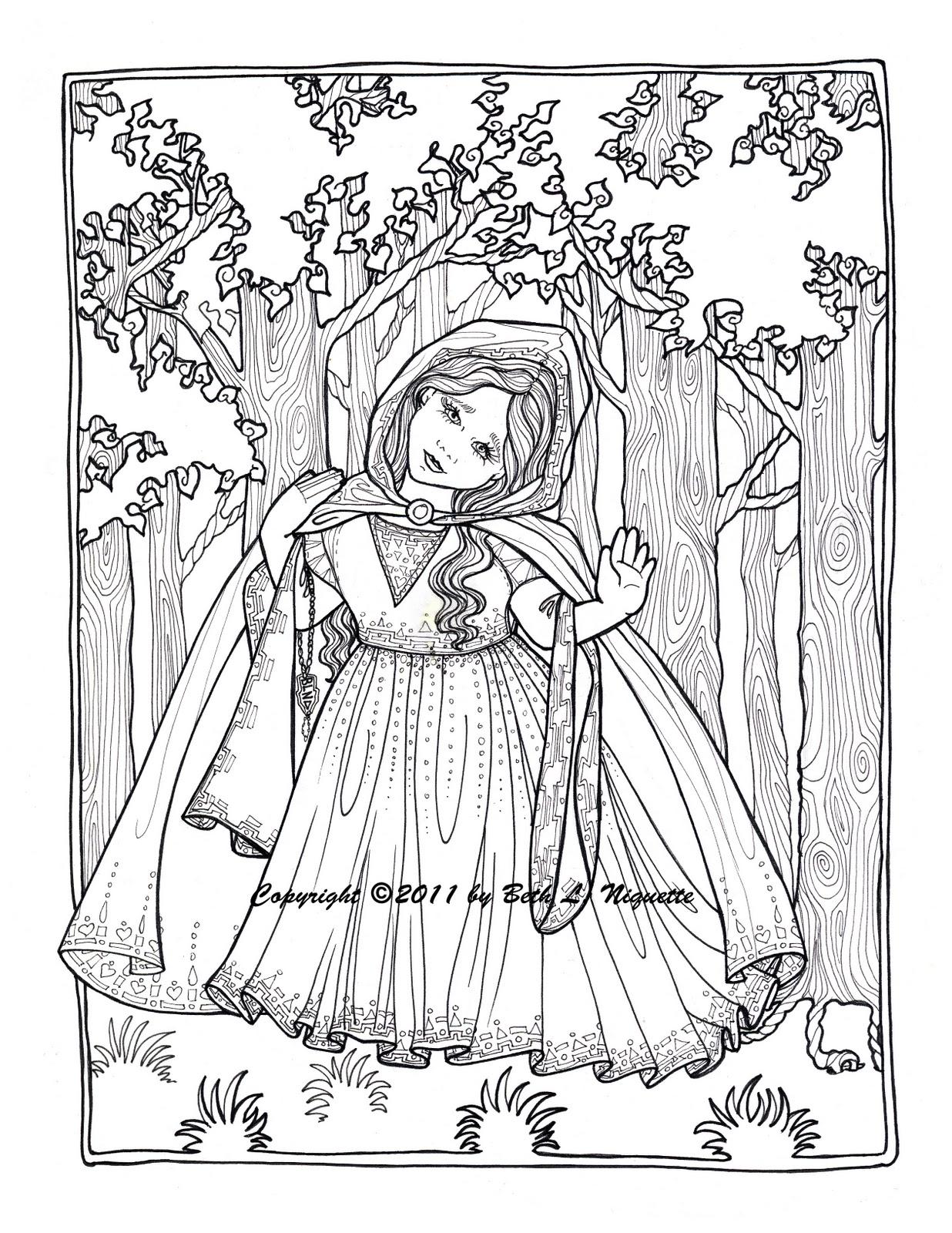 1236x1600 Beth's Artworx Little Red Riding Hood