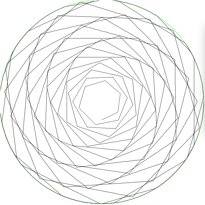 704x704 Computer Generated Circular Art Branching Out Wood