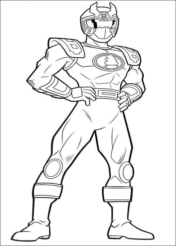 567x794 Power Rangers Coloring Pages For Kids