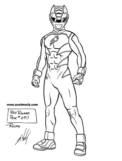 242x320 Scott Neely's Scribbles And Sketches! Go, Go, Power Rangers! More