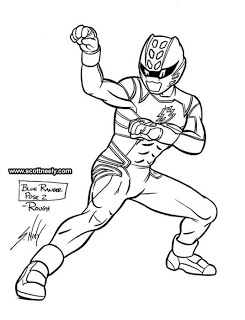 245x320 Scott Neely's Scribbles And Sketches! Power Rangers Jungle Fury
