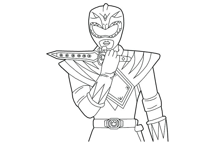 720x480 Great Power Rangers Coloring Pages Online