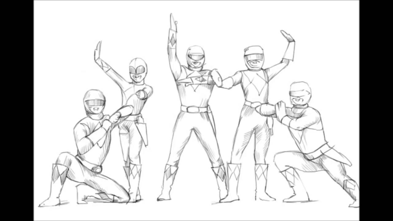 1280x720 How To Draw Power Rangers Samurai