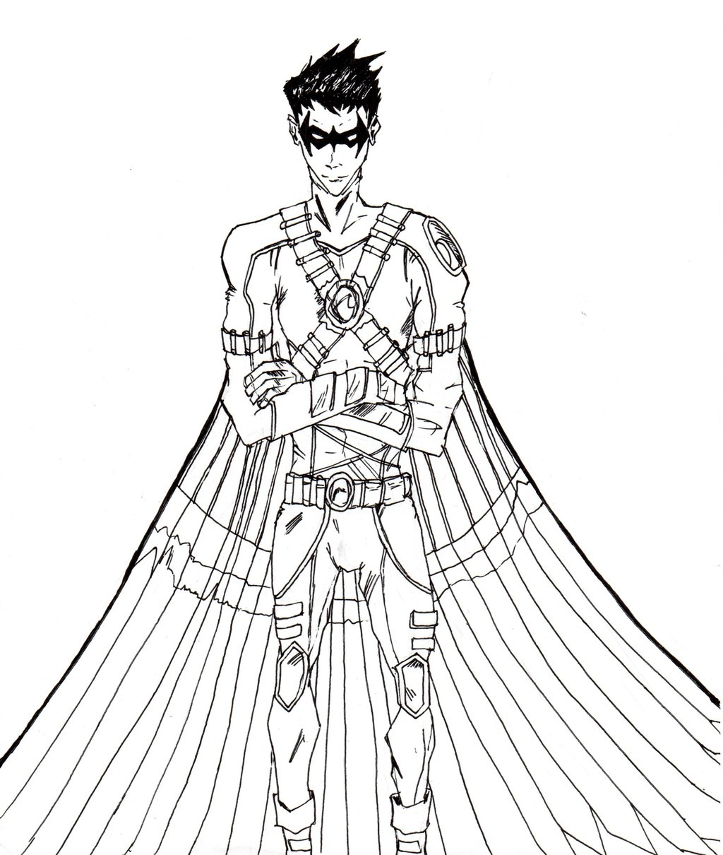 Red Robin Coloring Pages - Bltidm