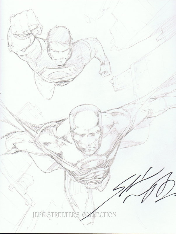 603x799 Superboy And Red Robin By Shane Davis, In Jeffrey Streeter'S