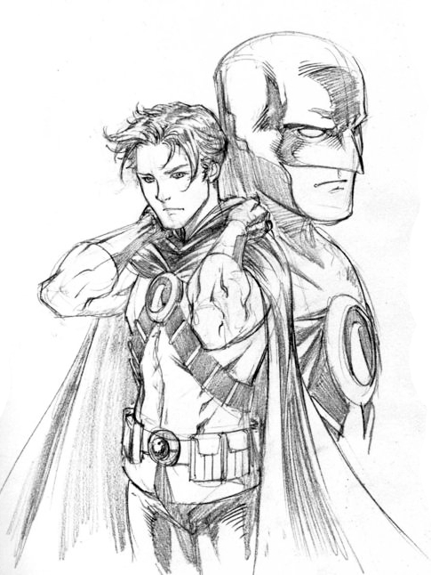 485x646 Tim Drake By Marcus To Red Robin Before The New 52. I Cant Help